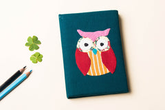 Handmade Applique Work Notebook (6in x 4in)