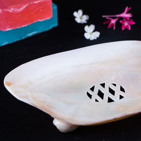 Handcrafted Seashell Soap Dish