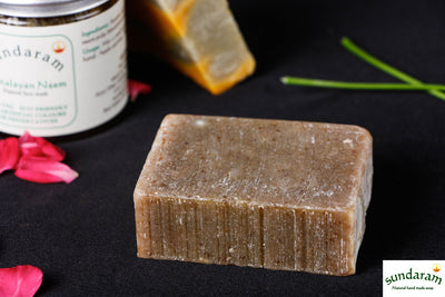 Sundaram Handmade Natural Herbal Himalayan Neem Soap - Antibacterial & Curative