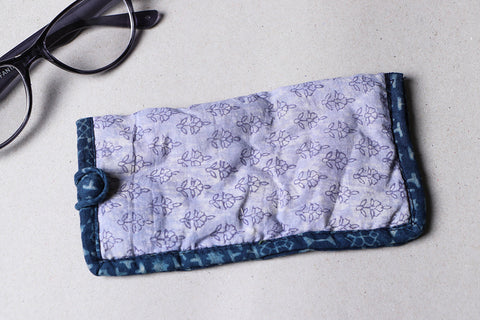 Handmade Printed Cotton Spectacle Case