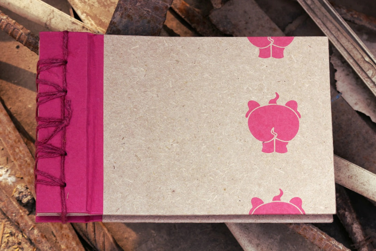 Ele Poo Paper Die-Cut Photo Album