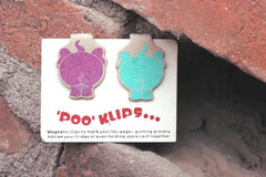 Ele Poo Paper Clips (set of 2)