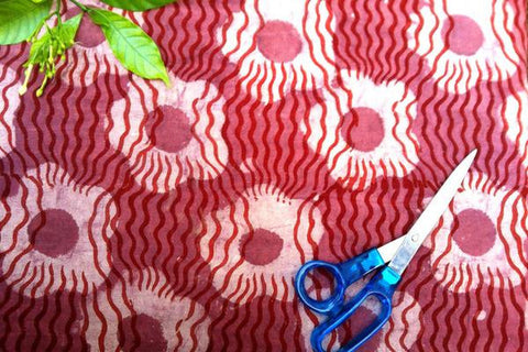 Bindaas Print Precut Cotton Fabric - 2.4 Meter