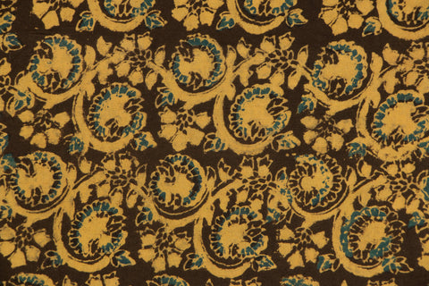 Ajrakh Print Precut Cotton Fabric - 1.3 Meter
