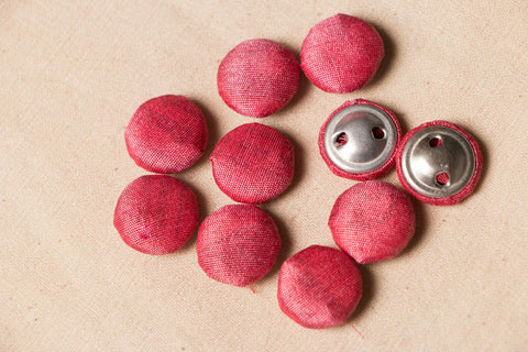 Buttonbaaz Handmade Button (Set Of 10 )