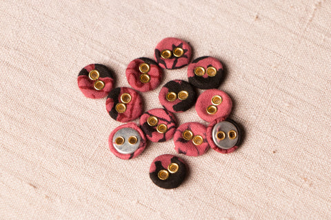 Buttonbaaz Handmade Button Mini (Set Of 12 )