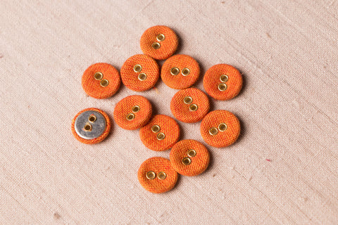 Buttonbaaz Handmade Button Small (Set Of 12 )