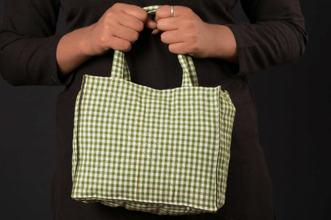 Handloom Cotton Hand Bag