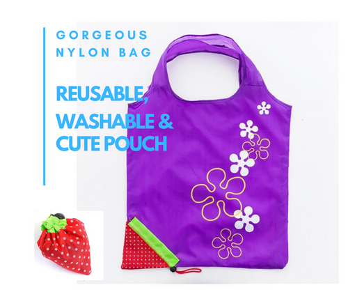 Nylon Reusable Shopping Bag