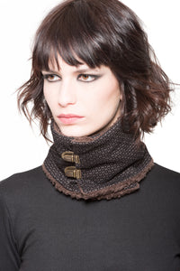 French Neck Warmer Wrap-Around Scarf