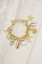 Load image into Gallery viewer, 'Mermaid Tears' Charm Bracelet
