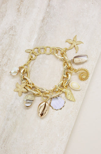 'Mermaid Tears' Charm Bracelet