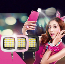 Load image into Gallery viewer, Selfie LED Ring Flashlight for Most Portable Mobile Phones