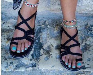 When In Rome Trendy Dazzling Women's Sandals, Assorted Colors