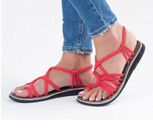 Load image into Gallery viewer, When In Rome Trendy Dazzling Women's Sandals, Assorted Colors