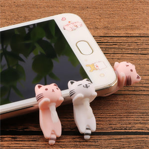 Cat iPhone/Smartphone Dust Plug, for Earphone Jack