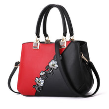 Load image into Gallery viewer, 2019 Best-Seller! Classic & Timeless 2-Tone Fashion Handbags, Sequined Vertical Flowers, Tote