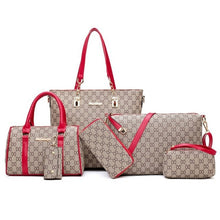 Load image into Gallery viewer, Designer Totes & Handbags, 5-Piece Set