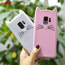 Load image into Gallery viewer, Cute Cat Cell Phone Case For Samsung Galaxy