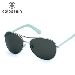 2019 COLOSSEIN Fashion Sunglasses, Gold Frame, Unisex UV400 Sunglasses