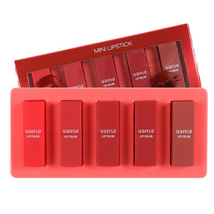 Hot Sale! Long-Lasting Smooth Moisturizing Lipstick, 5-pc.