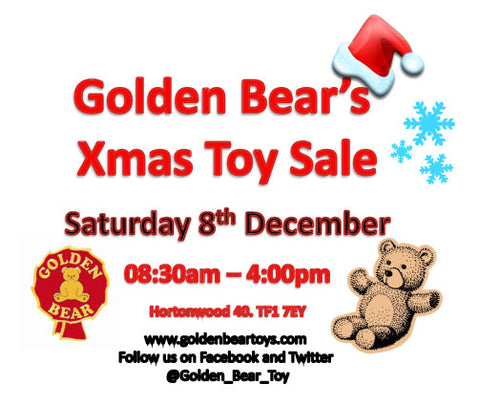 The Golden Bear Xmas Toy Sale!