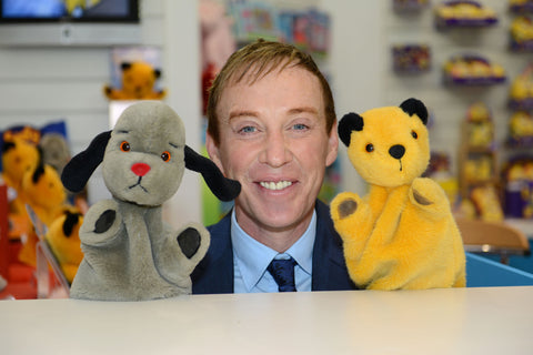 Richard Cadell, Sooty and Sweep at the GB Toys Stand