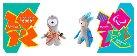 Golden Bear Toys Official London 2012 Olympic Mascots