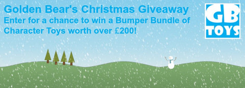 Win £200 worth of Golden Bear Toys in the Christmas Giveaway!