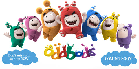 The Oddbods Are Coming To Golden Bear Toys