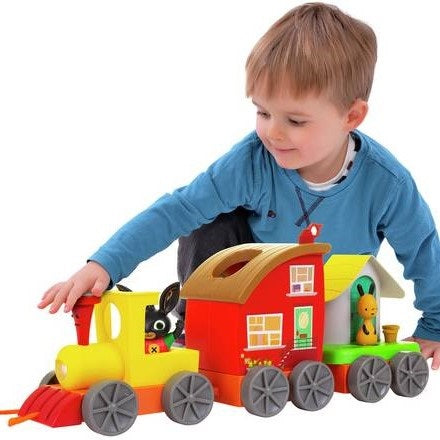 Bing's Train with Mini Playsets
