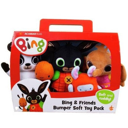 Bing and Friends Bumper Soft Toy Pack