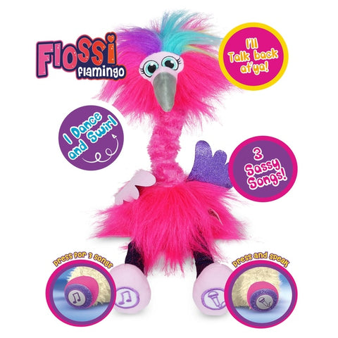Flossi the Flamingo