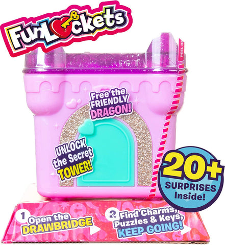 FunLockets Secret Surprise Princess Castle (Limited Edition) (Series 2)