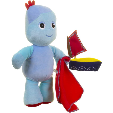 Igglepiggle with Wind-Up Musical Boat