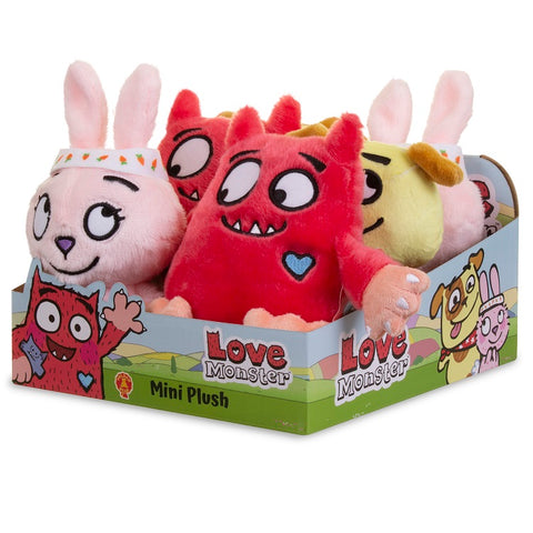Love Monster Small Soft Toys