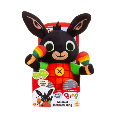 Musical Maracas Bing Soft Toy