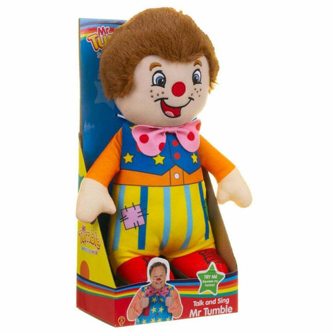 Talk and Sing Mr Tumble Soft Toy
