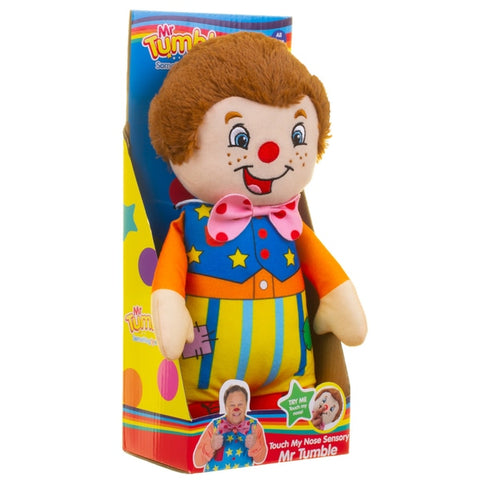 Touch My Nose Sensory Mr Tumble Soft Toy