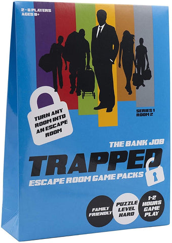 Trapped: Escape Room Game - Bank Job