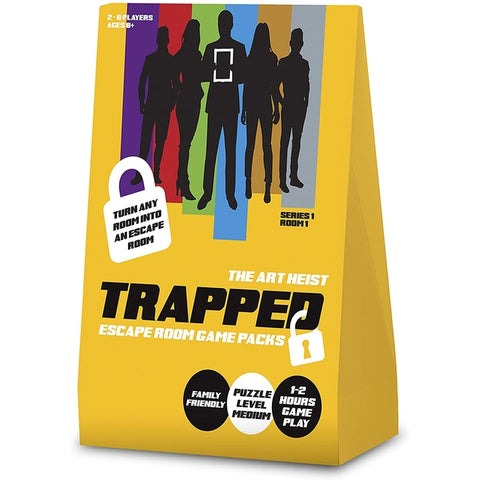 Trapped: Escape Room Game Pack - Art Heist