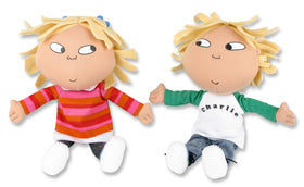 Soft Toys Toys At Amazon Co - Charlie and lola toys by golden bear golden bear toys