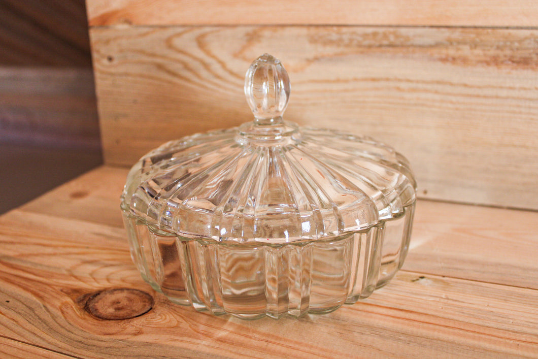 Glass Candy Dish