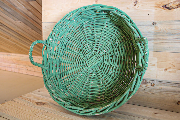 Green Gathering Basket