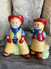 Load image into Gallery viewer, Cowpoke Salt and Pepper Shaker Set