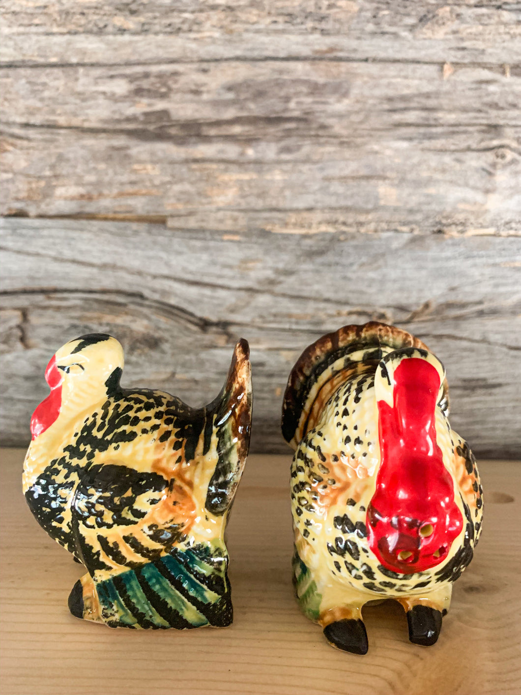 Turkey Salt and Pepper Shakers