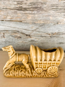 Horse and Wagon Toothpick Holder
