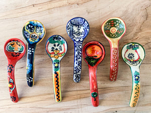 Mexican Salsa Spoons