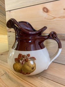 McCoy Pitcher with Pear