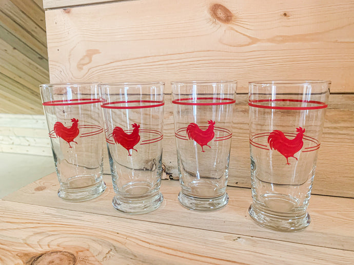 Rooster Glasses